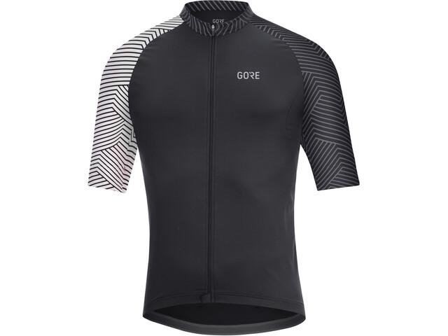 GORE WEAR C5 Optiline Jersey Herren black/white